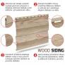 Fasádní obklad - lamela WOOD SIDING SV-05