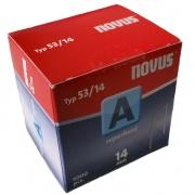 "Spony ""A"" NOVUS typ 53/ 14 mm super tvrdé /5000 ks"