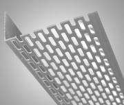 Fasádní větrací profil 30/30 mm PVC VP5030 - bílý /2,5 M
