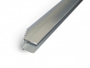 Ukončovací lišta ALU-F ELOX  - 10 mm