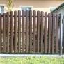 Plechová plotovka Guttafence dřevo dekor zlatý dub oboustranný dekor