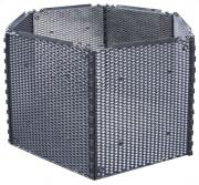 Variabilní síťový Kompostér - set 650l, černý