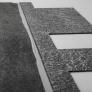 Lepící vrstva asfaltového šindele