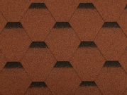 Asfaltový šindel Guttatec Hexagonal - samolepící