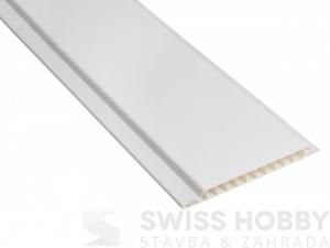 Plastové palubky Color HOBBY P101 bílá - 3m