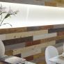 Polystyrolové plexisklo strukturované, dekor stromová kůra