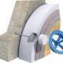 Polystyrenová fasádní zátka EPS