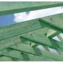impregnace krovu, zelená barva