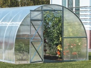 Zahradní skleník z polykarbonátu Trjoska 4 mm