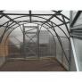 Zahradní skleník z polykarbonátu SL - konstrukce interiér