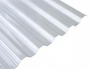 Polyvinylchloridová trapézová deska PVC trapéz - čirá