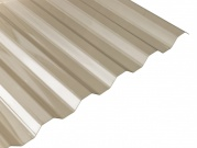 Polyvinylchloridová trapézová deska PVC trapéz - bronz