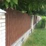 plot - plotovky Spazio, oboustranný dekor ořech