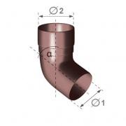 Plastové okapové koleno 67,5°
