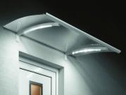 Vchodová stříška Guttavordach LED Technik