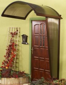Vchodová stříška Rondo (boční stěna)