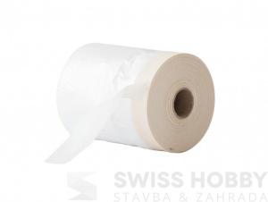 Zakrývací rq fólie s lepící páskou