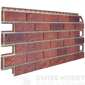 Fasádní cihlový obklad Solid Brick Bristol 011