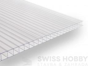 Polykarbonátové desky DUAL BOX - 6 mm