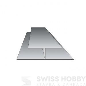 Spojovací profil Profi P510 - 011 bílá