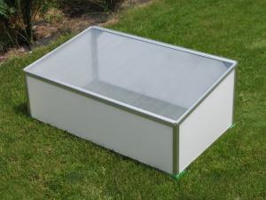 Polykarbonátové pařeniště - 100 x 60 cm