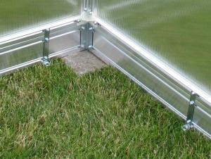 Základna pro zahradní skleníky Gardentec F3 - 230 x 228 cm