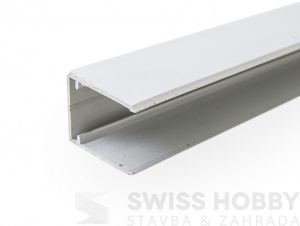Ukončovací profil ALU-U EASY CLICK 16 mm - 6 m, stříbrná