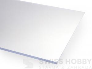 Polystyrolové plexisklo Hobbyglass 4 mm - 500 x 1250 mm