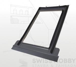 Lemování pro profilované střešní krytiny - 55x78 cm