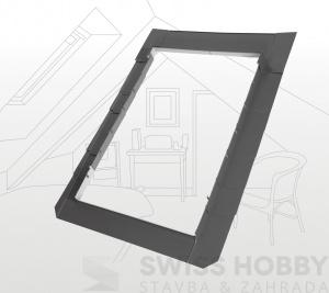 Lemování pro ploché střešní krytiny - 55x98 cm