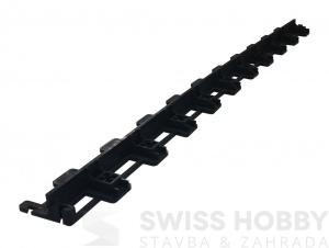 Neviditelný plastový obrubník vyztužený Extra Strong - 35 mm