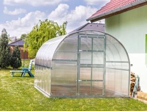 Zahradní skleník z polykarbonátu Gardentec Classic PROFI - 4 x 3 m