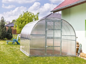 Zahradní skleník z polykarbonátu Gardentec Classic PROFI - 8 x 3 m
