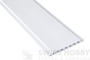 Plastové palubky Profi P520 /10cm/ - 011 bílá - 6m