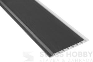 Plastové palubky Profi ASA P530 /10cm/ - 175 antracit, 6m